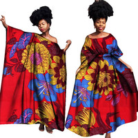 African Dresses for Women Bazin Riche Prom Dresses Dashiki Womens African Clothes African Wax Print Dresses Clothes
