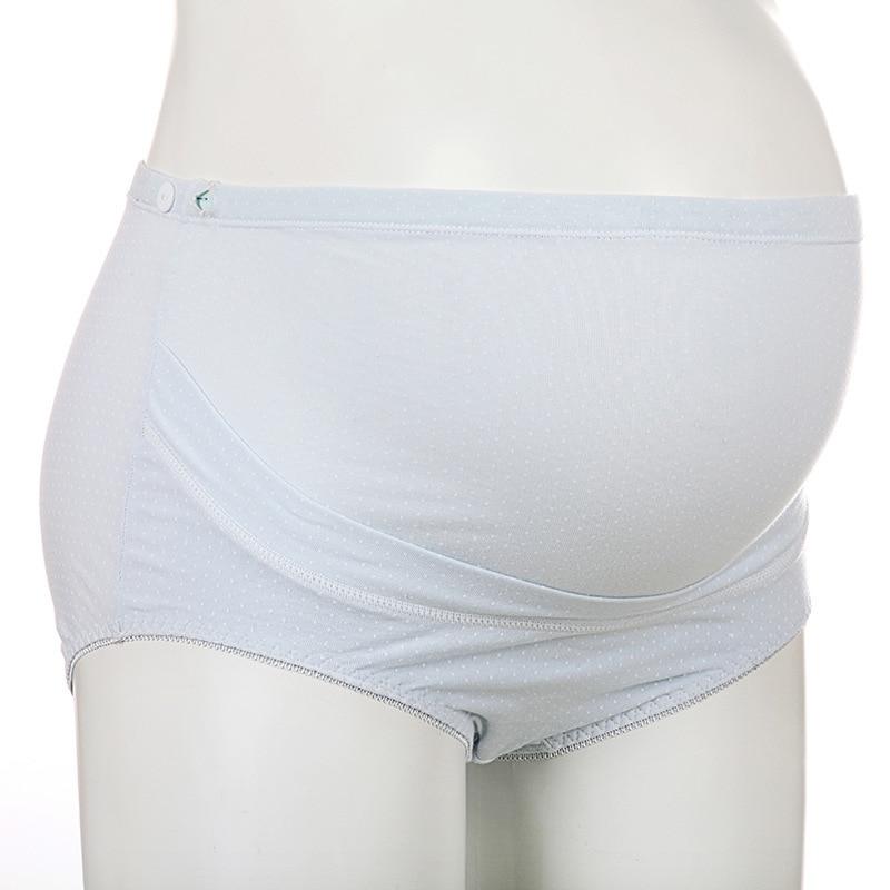 Plus Size Cotton Maternity Underwear High Waist Slimming Panties For Pregnant font b Women b font