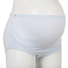 Plus Size Cotton Maternity Underwear High Waist Slimming Panties For Pregnant Women Adjustable Pregnacy Panties Belt Support