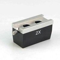 2X Binocular Optical Microscope Parts Accessory Stereo Microscope Objective Lens