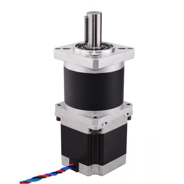 20:1 High Precision Nema 23 Planetary Gearbox Reducer Nema23 Gear Stepper Motor 2.8A 4-lead L=56mm