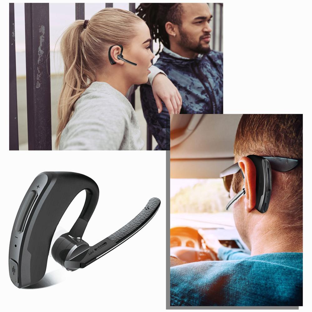 Walkie Talkie Bluetooth PTT Earpiece Handfree Wireless Headphone Headset Mic For BaoFeng UV-82 UV-5R BF-888S TYT Two Way Radio