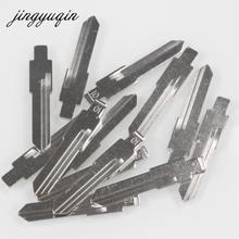 jingyuqin 2pcs 01# Key Blank Car Folding Flip Remote key blade for Volkswagen VW Santana Jetta for Audi Gol B4