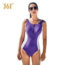 361 Swimwear Female Professional Sports Bikini Women Sexy One Piece Backless Push Up Swimsuit Ladies Pool Swim Suit For