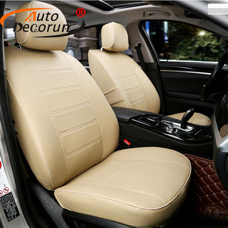 AutoDecorun Custom PU Leather Cover Seats For Lexus CT200h
