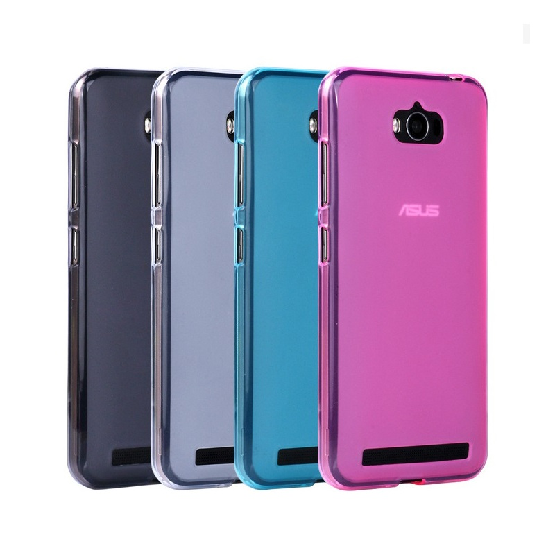 half off 3a0c9 72881 US $2.66 |Dulcii capa coque funda for Asus Zenfone Max TPU Bag Cover Double  sided Matte TPU Shell Cover for Asus Zenfone Max ZC550KL-in Fitted Cases ...