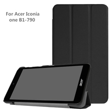 Cover Case For 2017 Acer Iconia One 7 B1-790 Tablet filip cover case for Acer Iconia one 7 B1-790 protective case+gift(China)