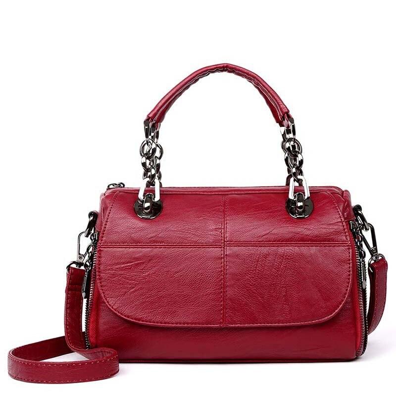 цена на 2017 Fashion Women Handbag PU Leather Messenger Bags Luxury Designer Brand High Quality Ladies Shoulder Bags Woman Crossbody Bag