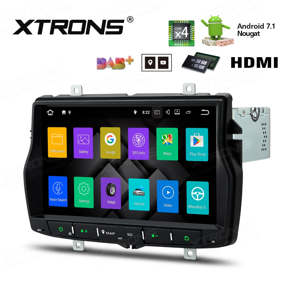 Russian Menu 8 Android 7.1 Radio GPS Navigation HDMI Car DVD Player Stereo WIFI DAB+for LADA Vesta 2015 2016 2017 2018 image