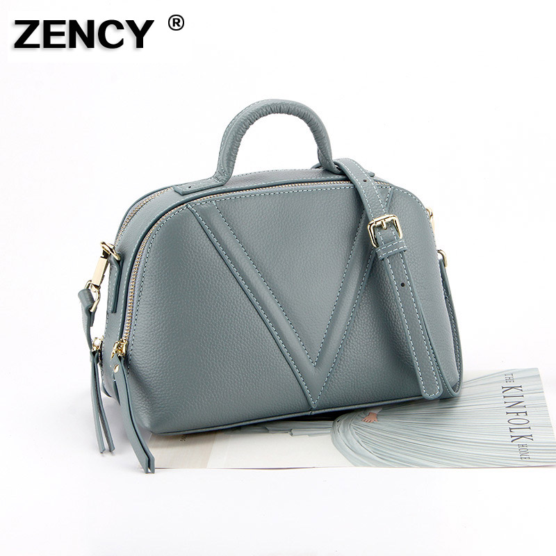 Fashion 2019 Designer Metal Tassel 100 Real Genuine Leather Women Small Shoulder Tote Handbag Ladies Crossbody