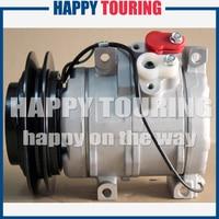 10S15C air conditioning compressor aircon for HINO Dutro DYNA 4500 4.6L 24V / 12V 11796G 447170 6460 447220 3514