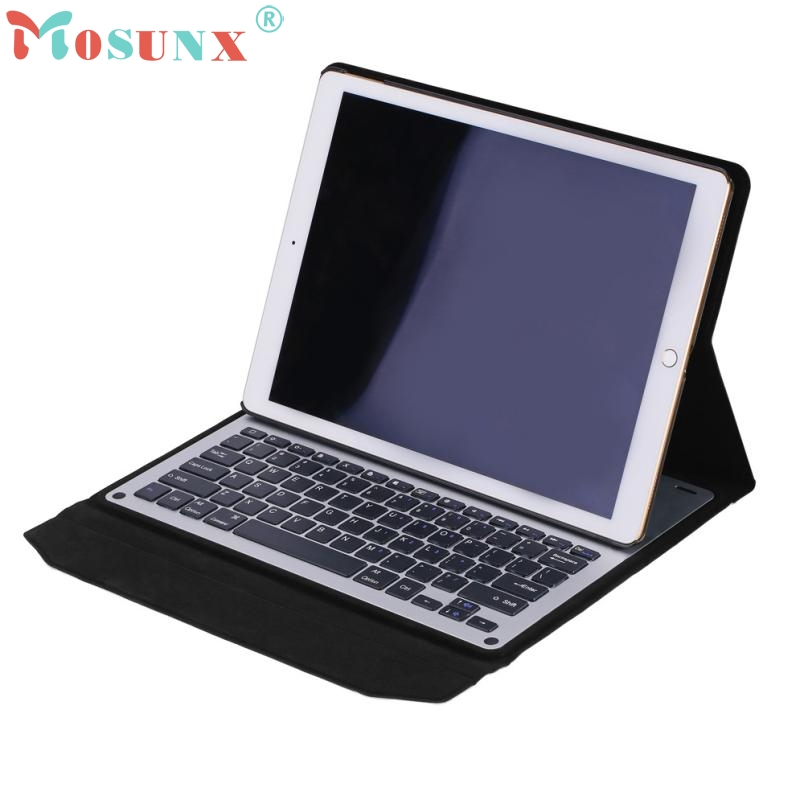 2017 New Leather Case Cover Beautiful Gift New 1pc For iPad Pro 12.9inch Ultra Aluminum Bluetooth Keyboard with PU_KXL0421 2017 new leather case cover beautiful gift new 1pc for ipad pro 12 9inch ultra aluminum bluetooth keyboard with pu kxl0421