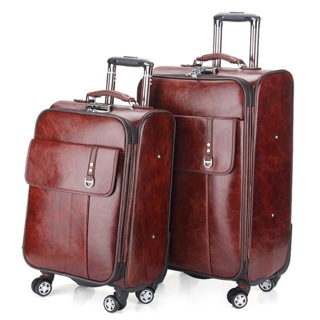 YISHIDUN High quality caster trolley suitcase fashion ladies designer Retro luggage Bags Business travel with trolleys viagem