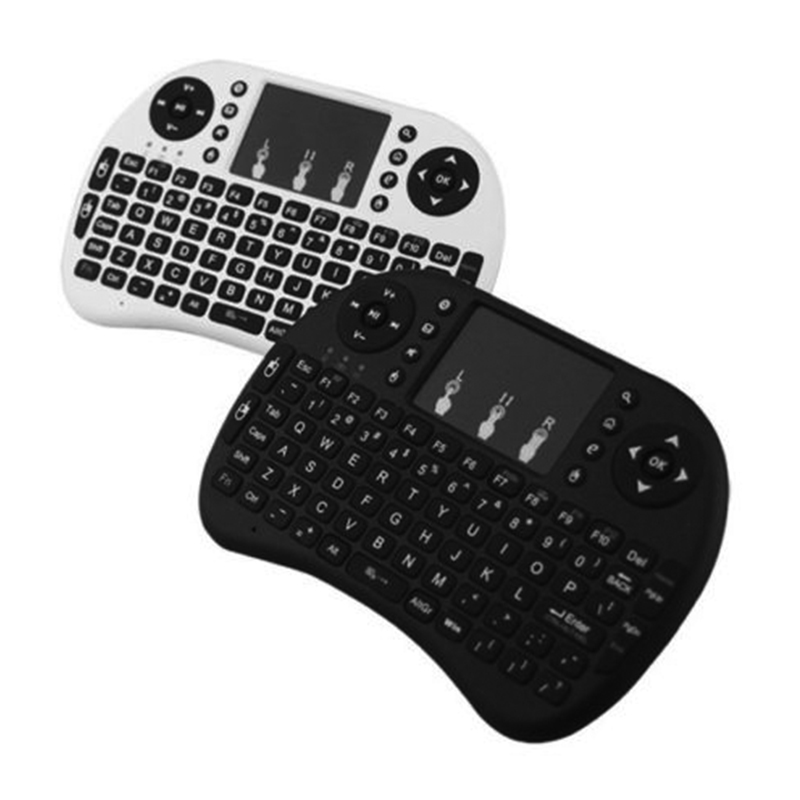 2 4G I8 Fly Air Mouse Mini Wireless Russian Hebrew Arabic English Spanish Italian Keyboard For