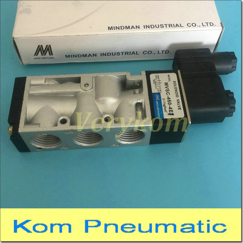 way solenoid valve New 1pc SMC type solenoid valve Two position three