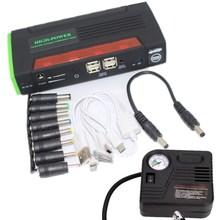 Лучшие продажи Аварийного авто power bank внешнее зарядное устройство Мути функция скачок стартер 12000 мАч с pump4 USB