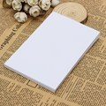 Kicute 50pcs New White Adhesive Printer Paper A4 Self Adhesive Glossy Paper Label Sticker For Laser