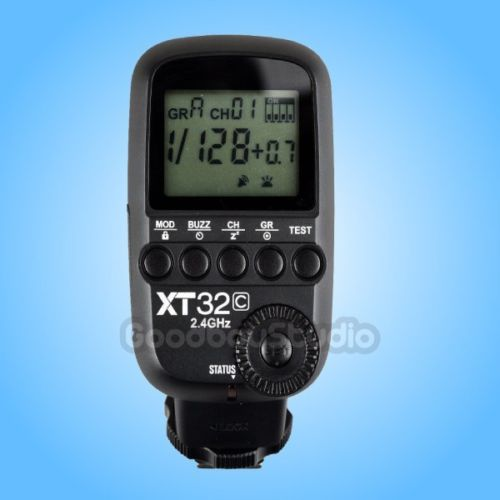 Godox XT32C 2 4G HSS Wireless 1 8000s High Speed Sync Flash Trigger for Godox X