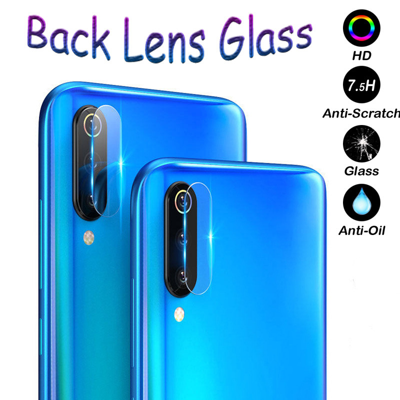 Clear Camera Lens Tempered Glas For <font><b>Samsung</b></font> Galaxy <font><b>A50</b></font> A30 M30 M20 S10 S8 S9 J6 J4 Plus J7 J8 2018 M10 Phone Back Protector Film image