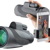 Universal Quick phone Holder 12X50 Power Prism Monocular Adapter Stand Mount for Binocular Spotting Scope Telescope Microscope