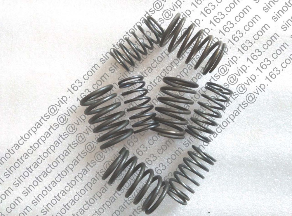 Shenniu tractor parts, set of valve springs (for intake & exhaust valve) of Shenniu 250 254 with engine HB295T, part number: