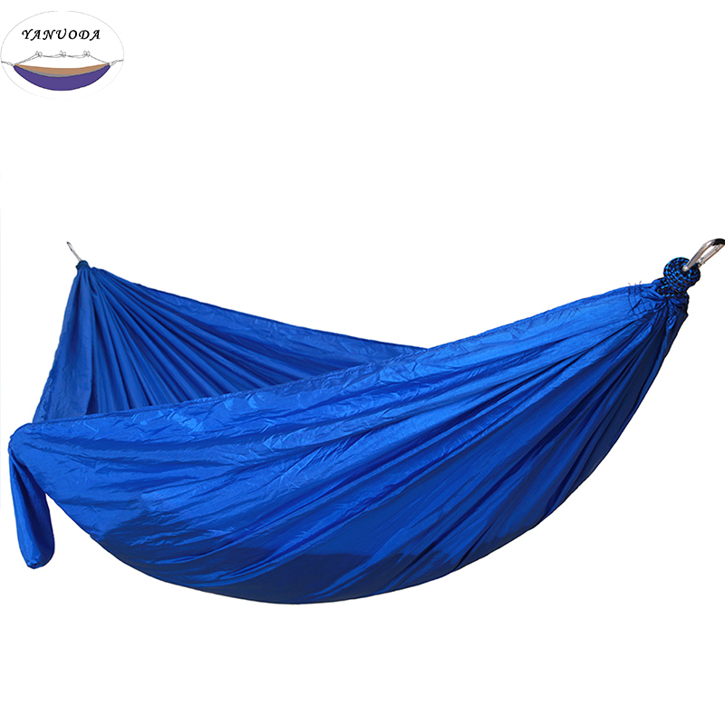 High Strength Camping Hammock High Quality Large - Thin Hammock Outdoor Park Portable Equipment With Tree Rope