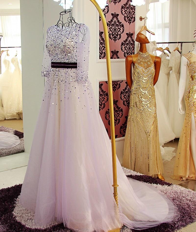 Violet Evening Dresses 118