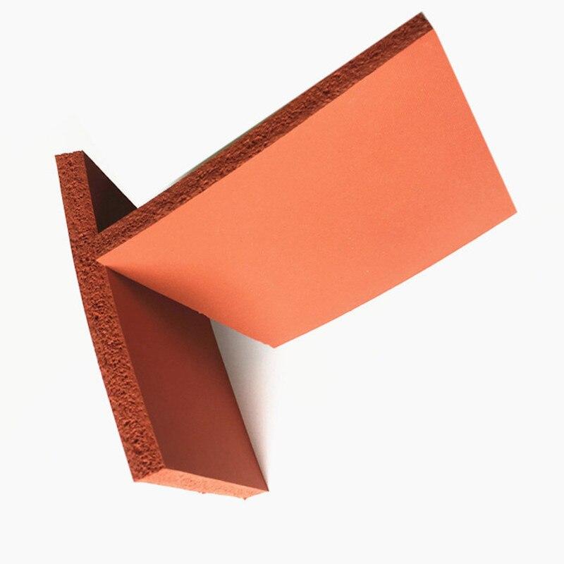 シリコーン発泡スポンジプレートシートボード断熱毛布ストリップ平方 500 × 500 × 10 ミリメートル赤白  グループ上の 家のリフォーム からの 止水板 の中 1