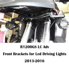 KEMiMOTO soportes delanteros para luces Led de conducción, piezas para motocicleta BMW R1200GS, R 1200, GS, LC, Adventure 2014, 2015, 2016