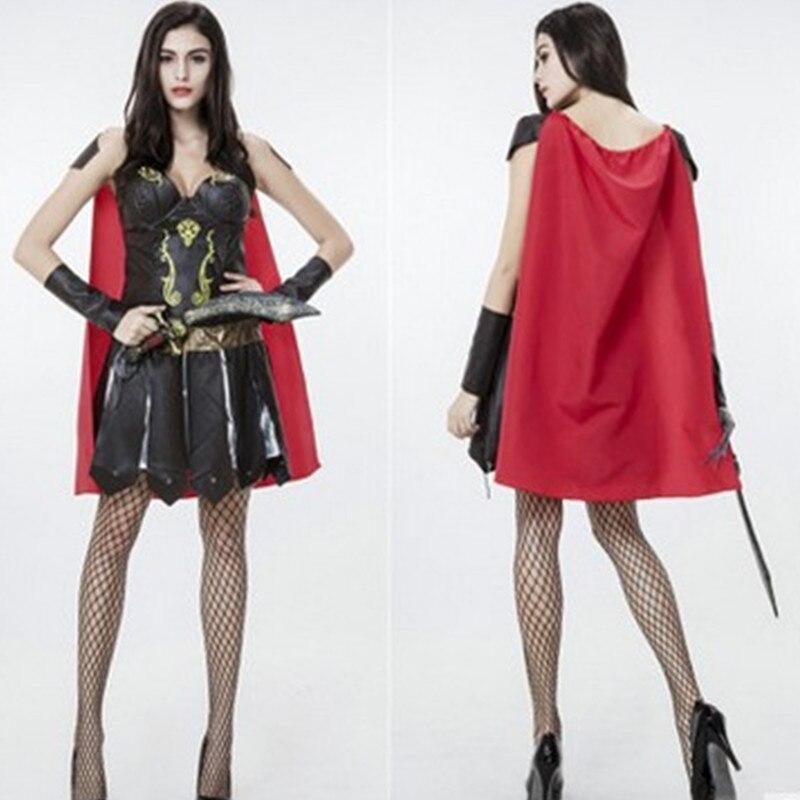 Fantaisie Disfraces déesse grecque Cosplay femme guerrier Pirate costume Halloween Costume pour femme vêtements exotiques jeu uniforme