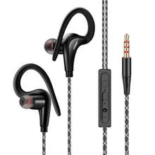 Melhor Baixista Música Estéreo Fones de ouvido Fone De Ouvido Super Bass Esporte Fone de Ouvido Com microfone de 3.5mm para Telefones Samsung Xiaomi MP3