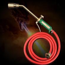 Сжиженный углеводородный газ фонарь вакуум-пистолет фонарь газовый спрей пистолет огнемет+ газовая труба+ Насадка+ Крепежное кольцо+ разъем
