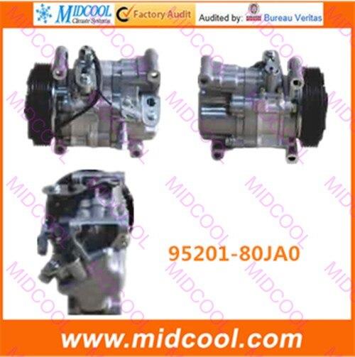 HIGH QUALITY AUTO AC COMPRESSOR  V08A1AA4AG  FOR  95201-80JA0  9520180JA0HIGH QUALITY AUTO AC COMPRESSOR  V08A1AA4AG  FOR  95201-80JA0  9520180JA0