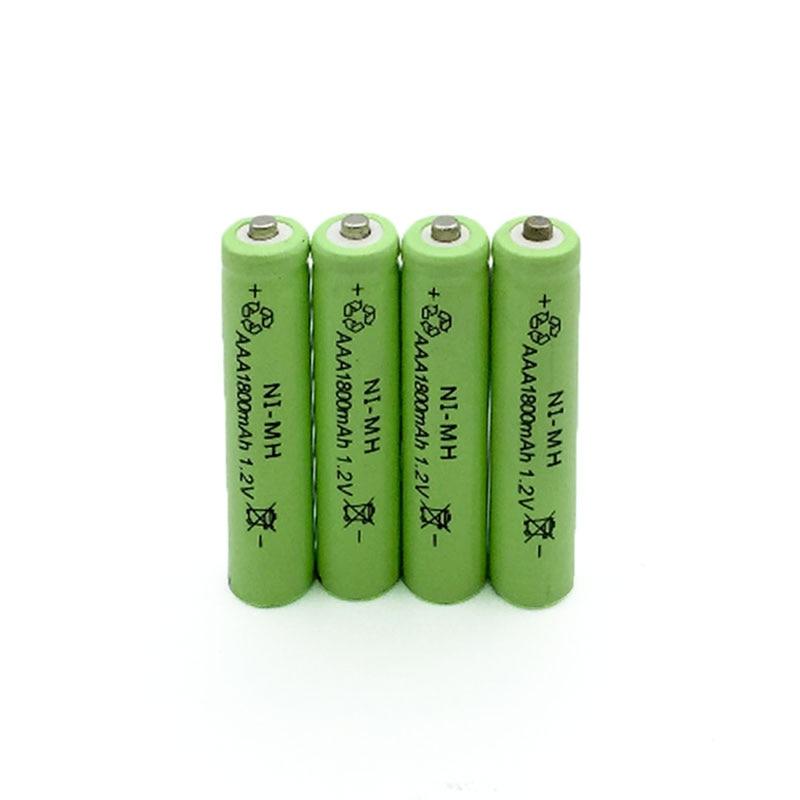 Baterias Recarregáveis de 1800 mah bateria recarregável Tipo : Ni-mh