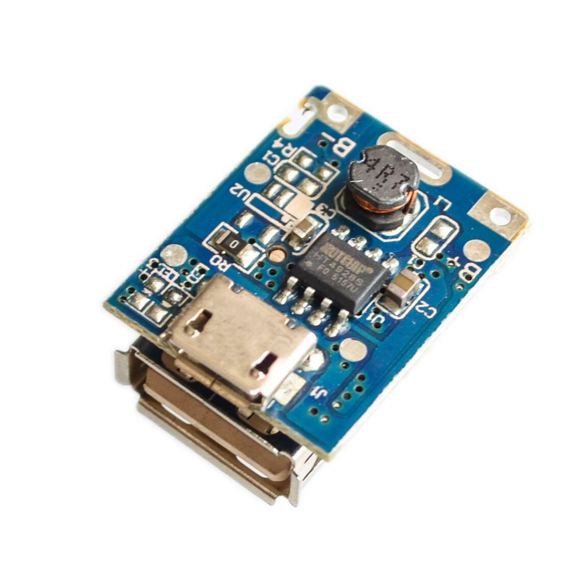 5PCS 5V Boost Step Up Power Module Lithium LiPo Battery