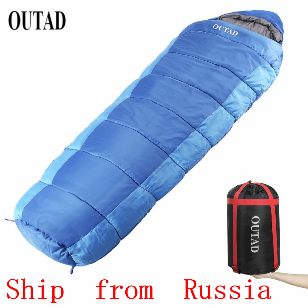 WAREHOUSE OUTAD Outdoor Mummy 40 50 Degree Sleeping Bag for Camping/Hiking/Backpacking