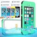 Para apple iphone 6 6 plus impermeable life water proof case a prueba de golpes dirt prueba cubierta casos de teléfono para i phone6 6 plus