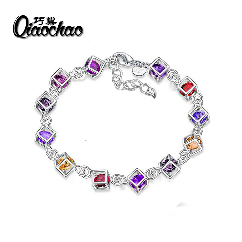 Free shipping silver plated jewelry bracelet fine fashion bracelet top quality wholesale and retail S71