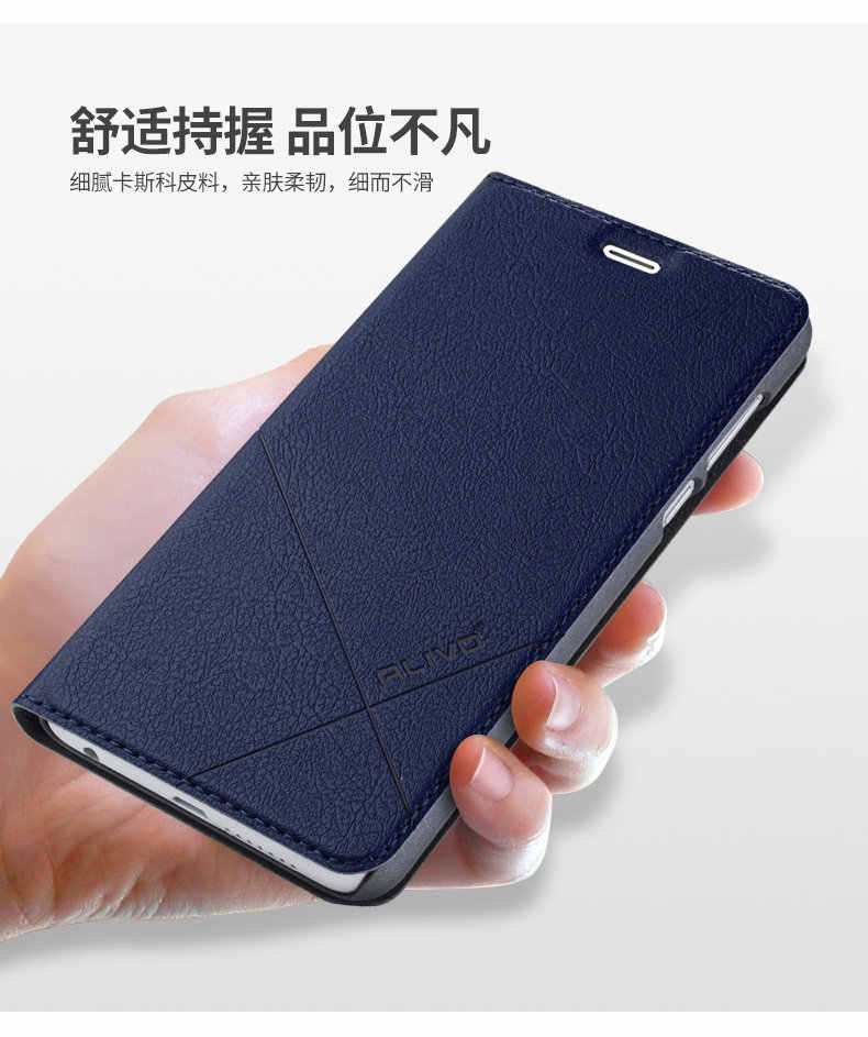huawei honor 8 lite Case PU Leather Business Series Flip Cover For huawei honor 8 lite Brand  alivo flip case cover #0918