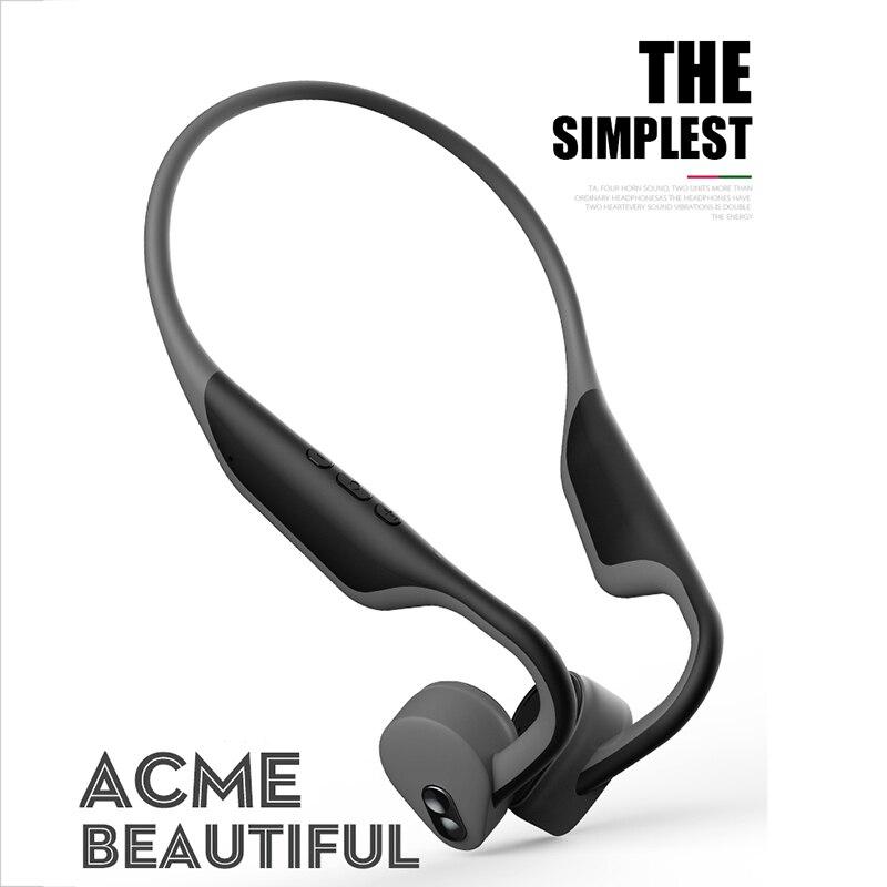 BH128 Bluetooth 5 0 Wireless bone conduction Bluetooth headset Outdoor sports earphone microphone