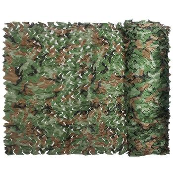 Camping Camo Net 0.5x1m Woodland Jungle Camouflage Net Hunting Shooting Fishing Shelter Hide Netting 8mx8m woodland camouflage netting military army camo hunting hide camp cover net outdoor camping sun shelter