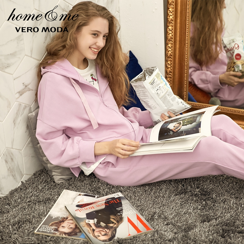 Vero Moda 2019 new hooded comfortable   pajamas     set   homewear | 31838L501