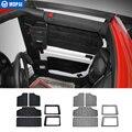 Kit coton d'isolation thermique pour toit rigide MOPAI pour fenêtre arrière et toit de voiture pour Jeep Wrangler JK 2012 Up|car styling|car styling interior|accessories accessories -