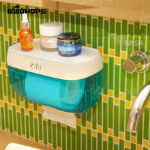 Free Drilling Wall-mounted Bathroom Tissue Dispenser Car Napkin holder Bathroom Tissue Box Paper Tray Roll Waterproof Toilet(China)