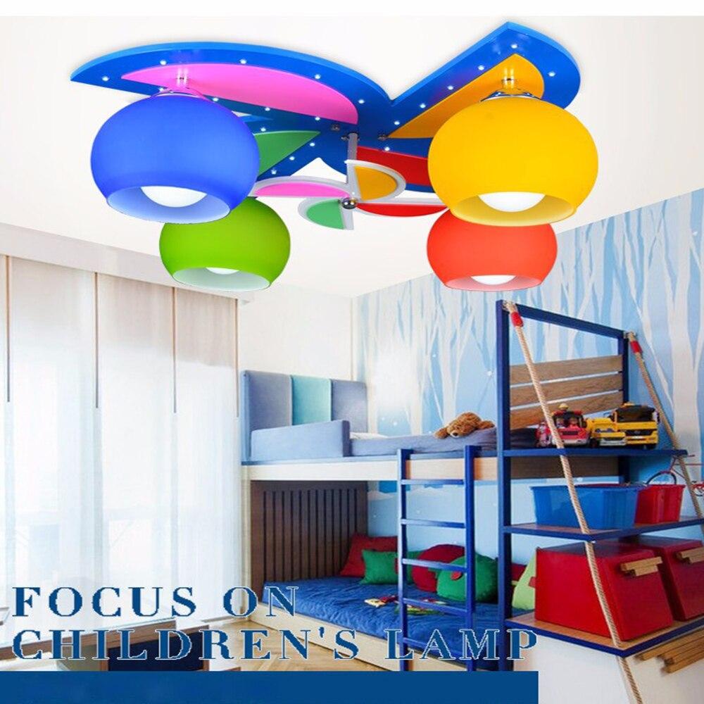 Children Ceiling lights Kids Bedroom Light Novelty LED Ceiling lamp with remote controller 110V 220V
