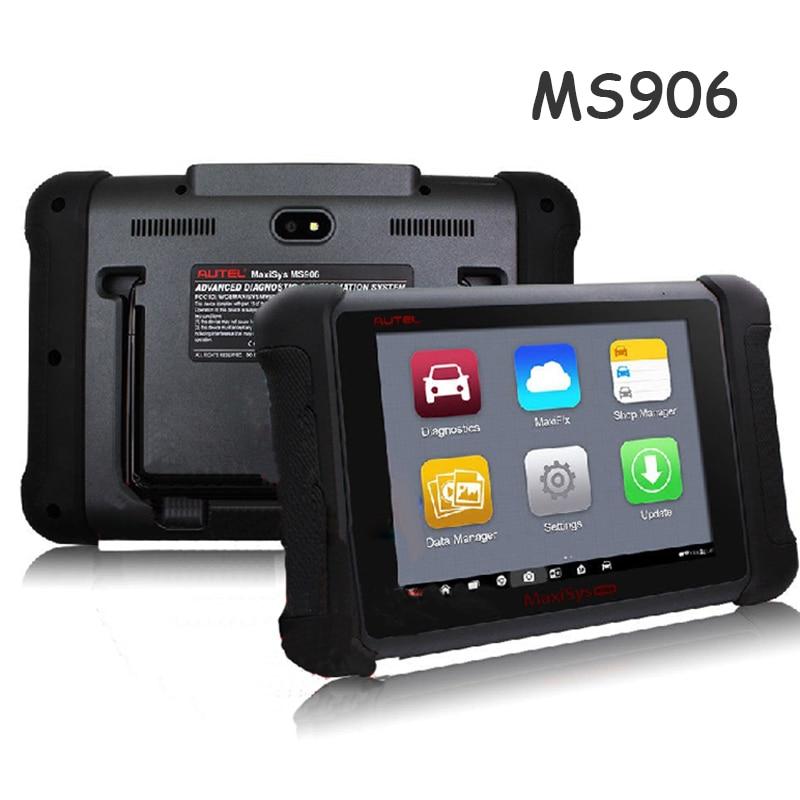 Auto Diagnostic Scanner Autel Maxisys ms906 8 LED Android 4.4.2, Kitkat Next Generation Autel Maxidas Online ms906 Update