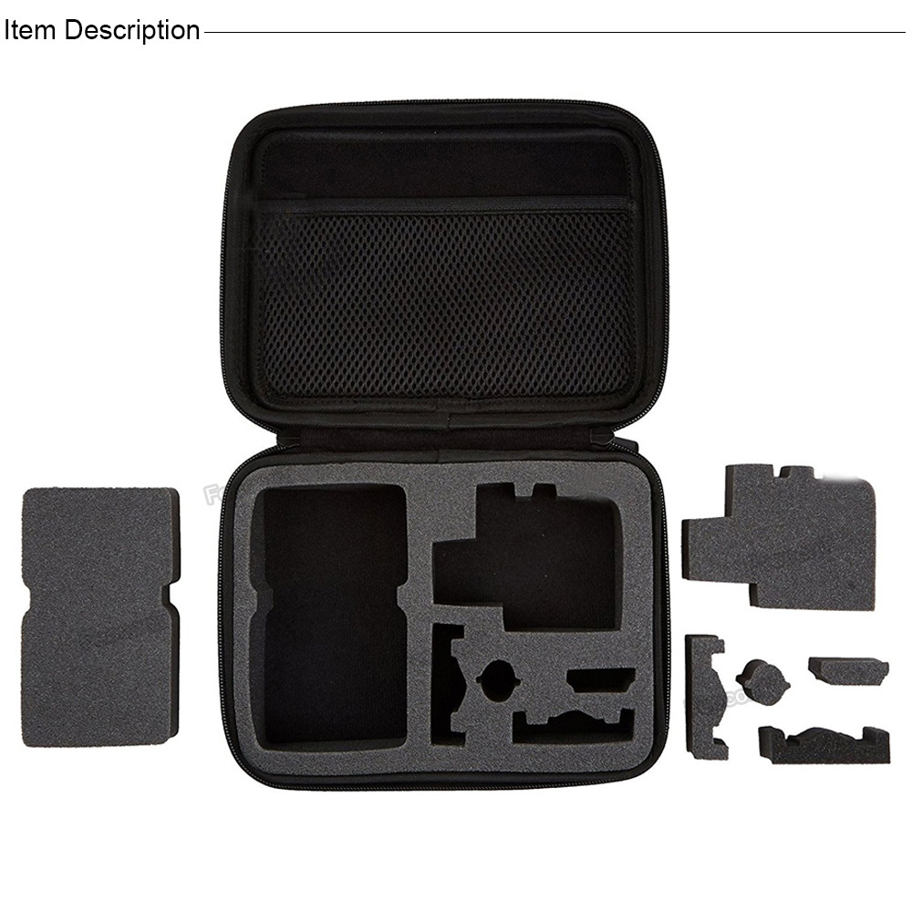 Image 2 - Action Camera Accessories Kits For Gopro Hero 7 6 5 Case Buoyancy Rod Straps Mounts For Gopro Here 7 4 Session Accessories Yi 4K-in Sports Camcorder Cases from Consumer Electronics