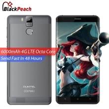 Oukitel K6000 Pro Teléfono Móvil 4G LTE 5.5 pulgadas FHD Octa MTK6753 Core Android 6.0 3 GB RAM 32 GB 16MP Cámara de IDENTIFICACIÓN de Huellas Dactilares En la Acción