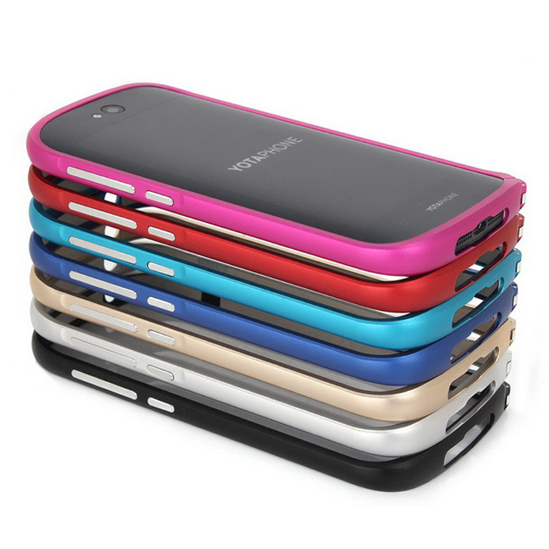 Nyt til Yota Phone 2 Taske Luksus Ultra tynd Metal Aluminium Frame - Mobiltelefon tilbehør og reparation dele - Foto 5