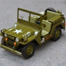 Free Shipping Handmade Antique U.S. WWII Green Military Model